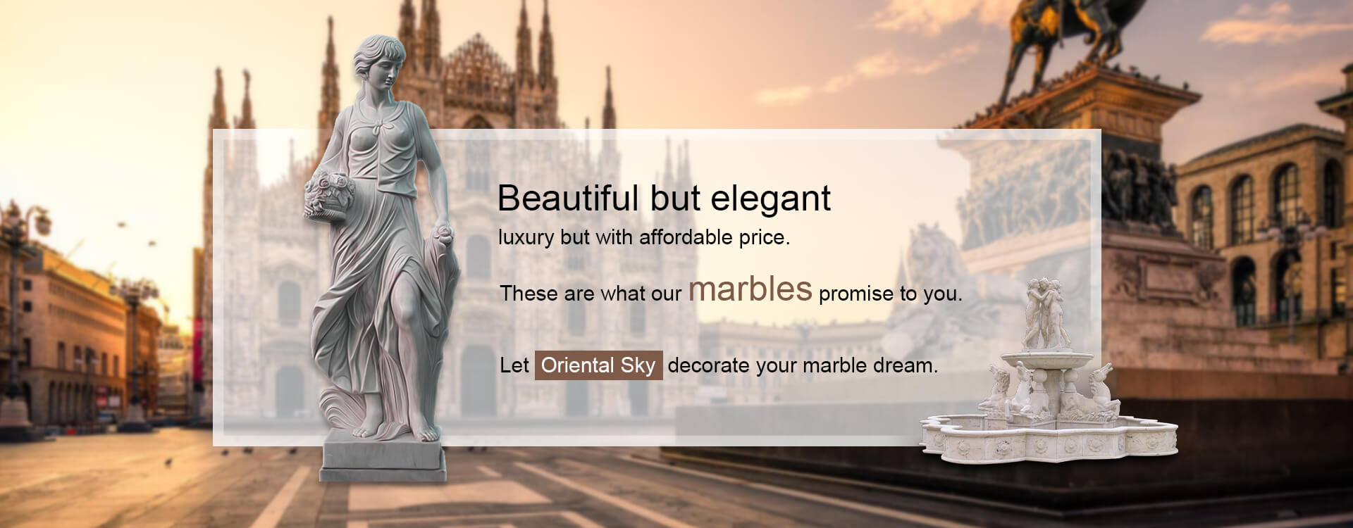 Marble Stone Home & Garden Sculptures and Decors